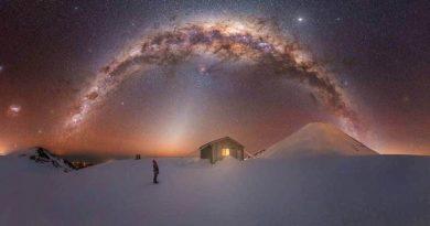 Új-zélandi lett az év Tejút-fotósa