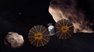 Lucy in the Sky - with Asteroids?