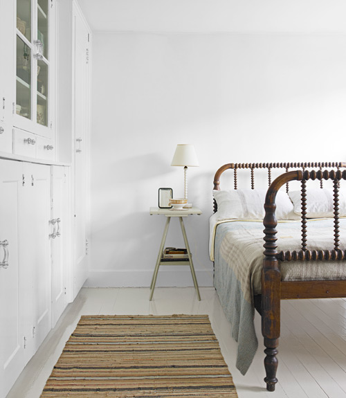 Country Living - White Bedrooms + Solitude