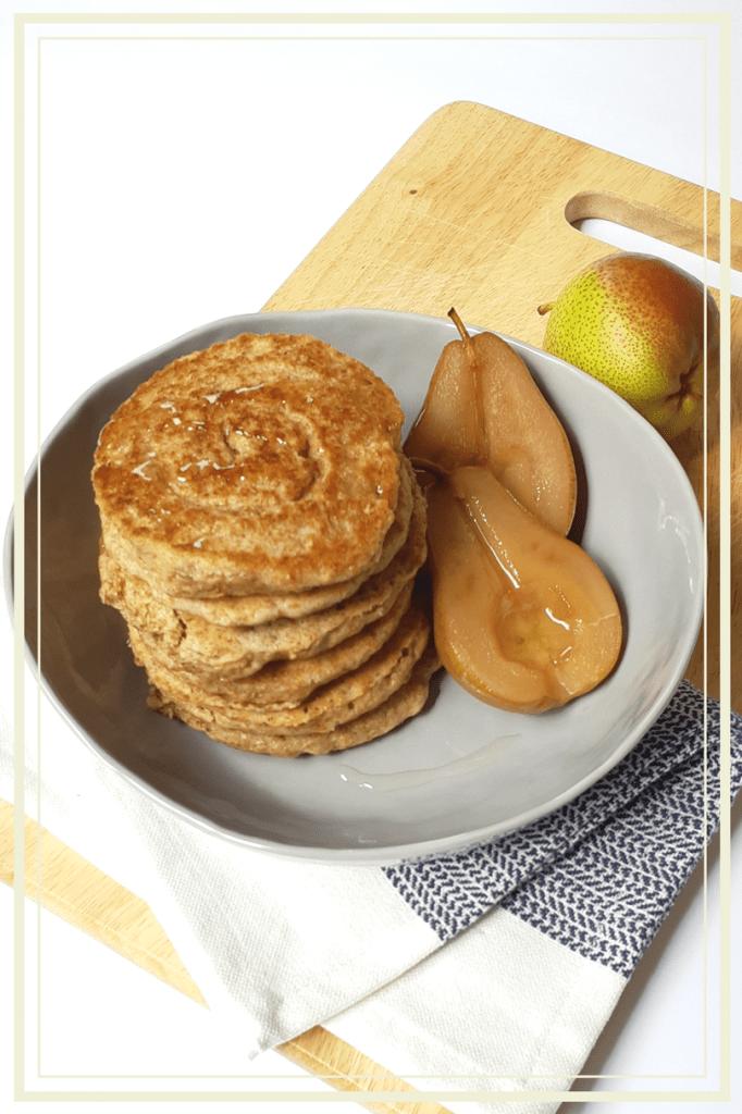 Extra Fluffy Vegan Pancakes