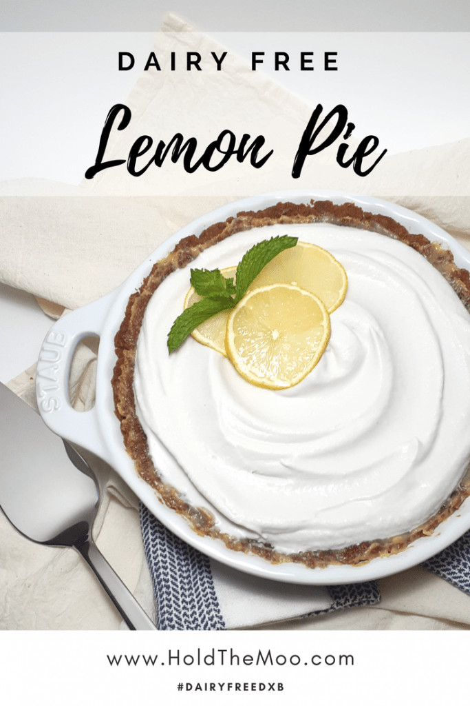 Dairy Free Lemon Pie
