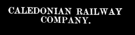 Caledonian Railway Company - basis of James C Bunten's wealth