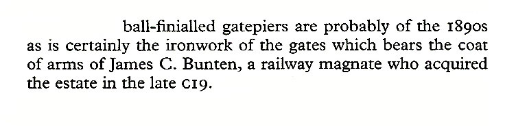 James C Bunten, the Iron gates of Dunalastair