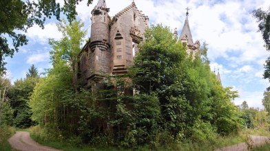 Dunalastair house ruin