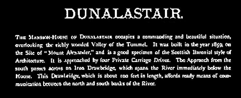 Dunalastair, 1890