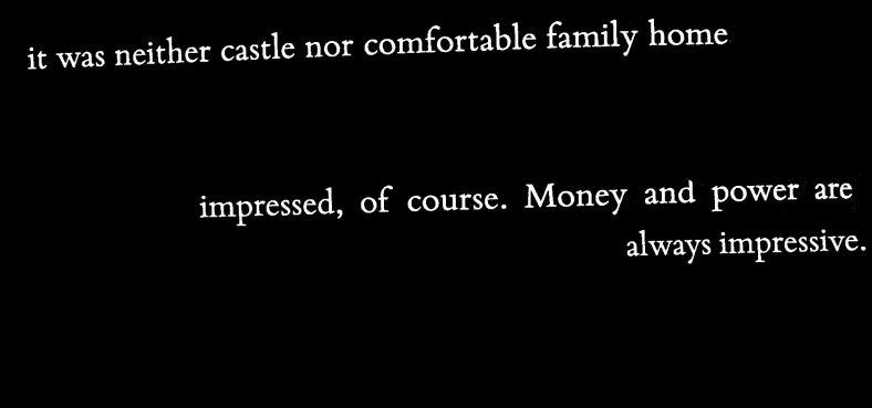 Dunastair, money and a highland hoose