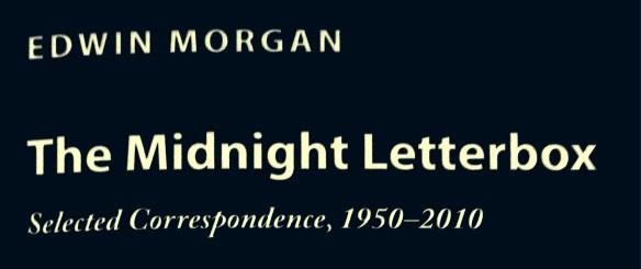 Edwin Morgan letters (1)