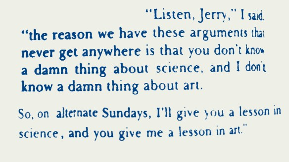 Feynman on artists and scientists2