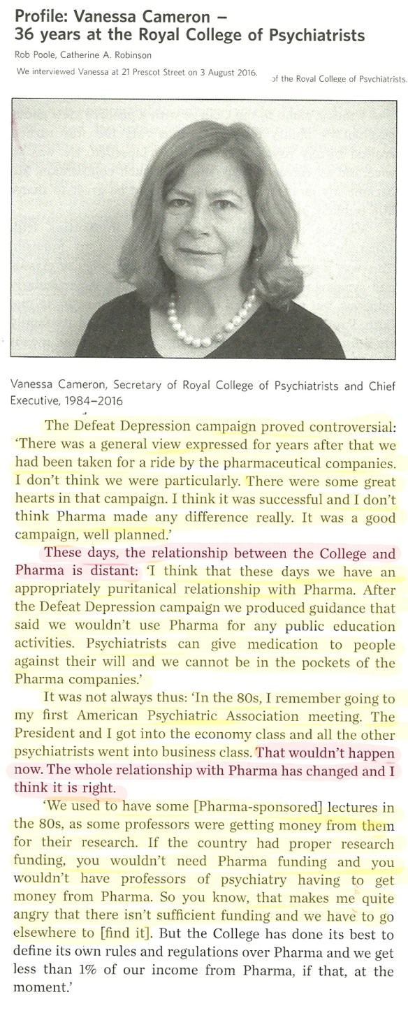 chief-executive-royal-college-of-psychiatrists-dec-2016-on-pharma-relationships