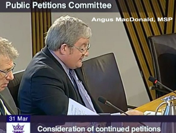 Angus MacDonald, MSP