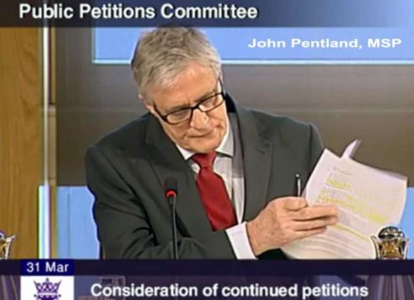 John Pentland, MSP