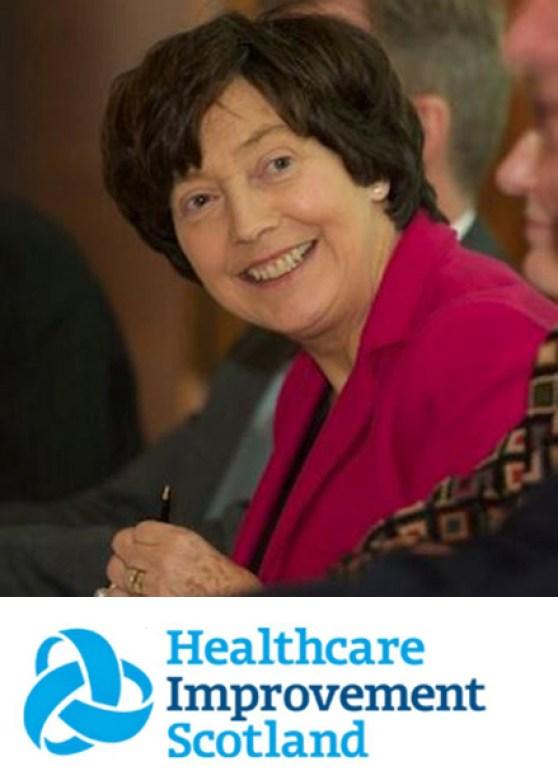 Denise Coia, Chair Healthcare Improvement Scotland