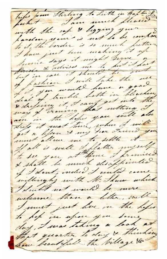 to Susan Rutherford 17 Nov 1831 (2)