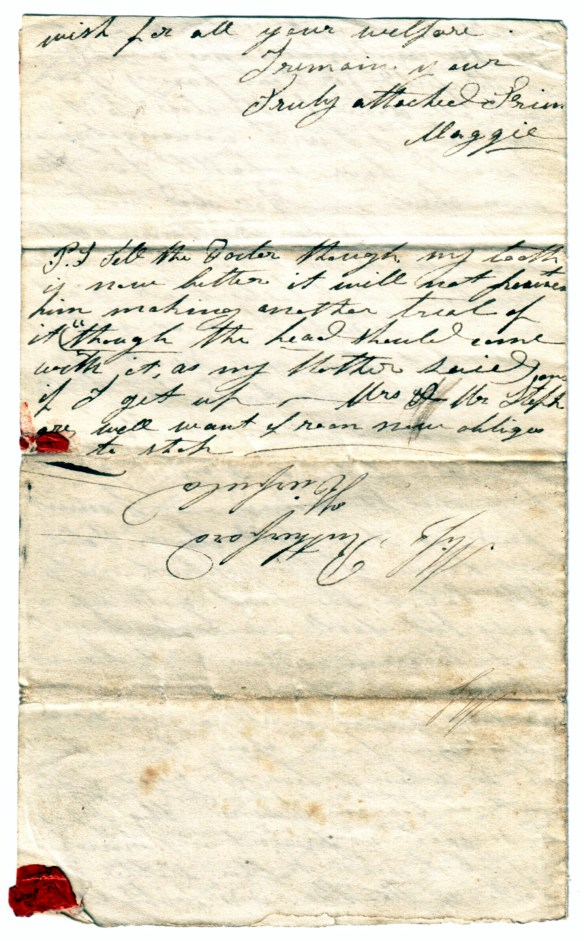 to Susan Rutherford 17 Nov 1831 (4)