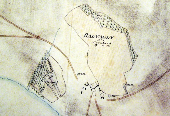 Balvagly - 1806 Innes map