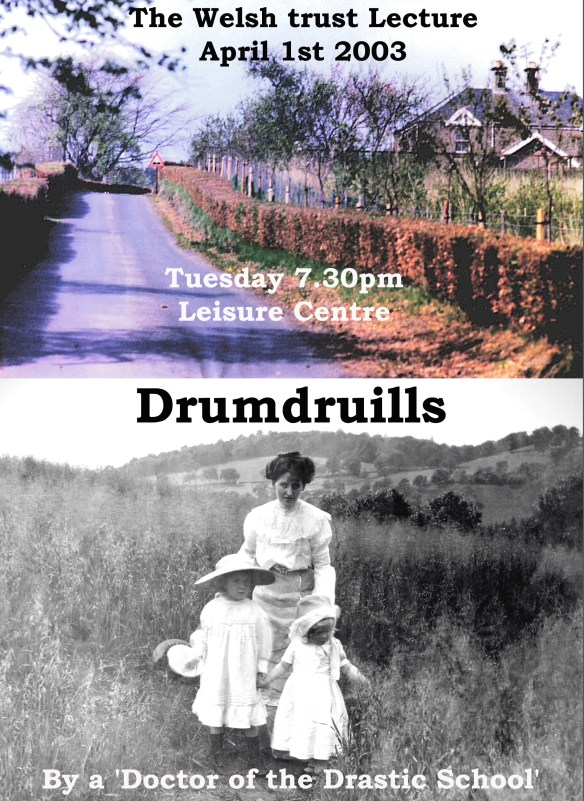 drumdruills-poster-welsh-trust-lecture