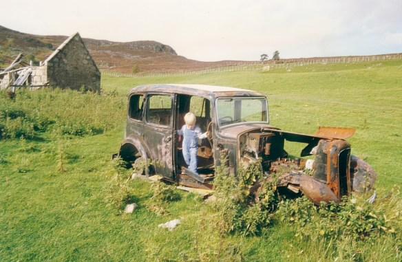 Duncan Gordon in the Camlet car 1985