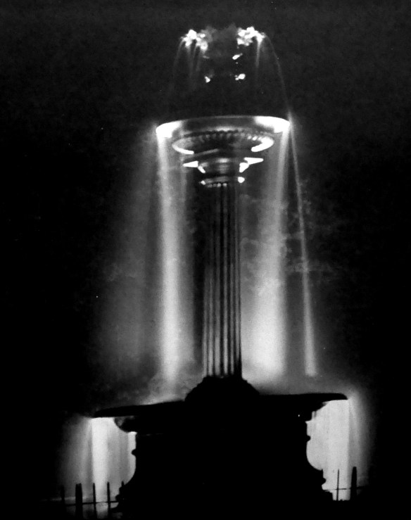 Fountain of Nineveh with water