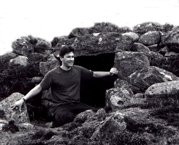 Lime Kiln - Peter at Camlet