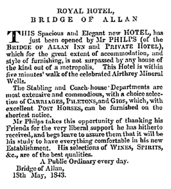 royal-hotel-bridge-of-allan-may-1843