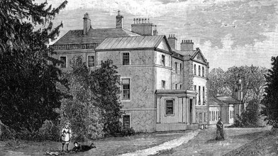 Edmonstone House engraving 1880