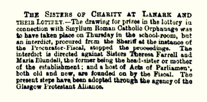 1 March 1869 Smyllum