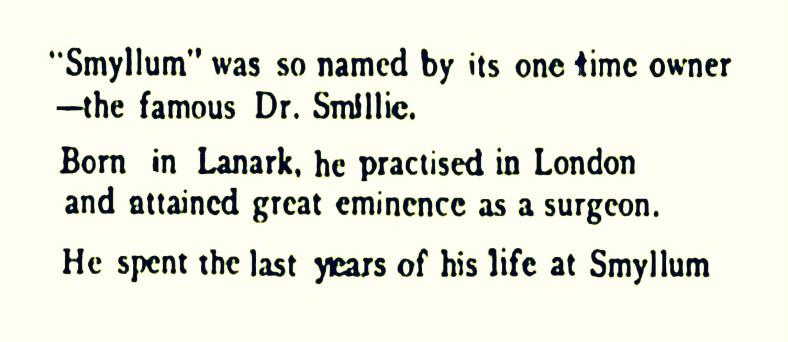 Smyllum name