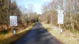 Road tae Poltalloch House (21)