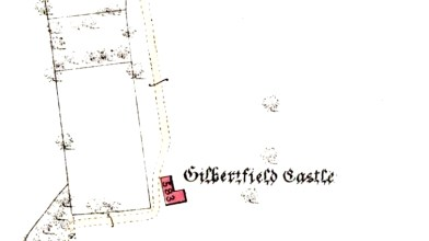 1st OS map Gilbertfield