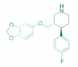 Paroxetine molecular