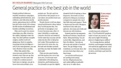 GP best job in the world - Mgt McC 24 Apr 2015