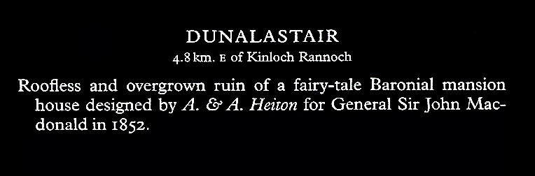 Dunalastair text
