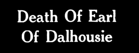 Death of the Earl of Dalhousie - 3 May 1950