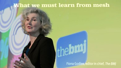 Fiona Godlee, BMJ Editor in Chief on Mesh - October 2018
