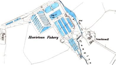 Howietoun fishery map 1896a
