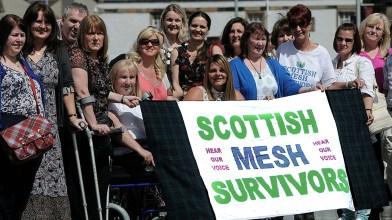 Scottish Mesh survivors