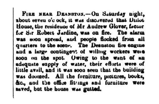 December 1885 Dillot