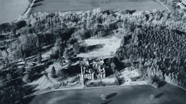 Crawford Priory, after 1960 and the roof is gone