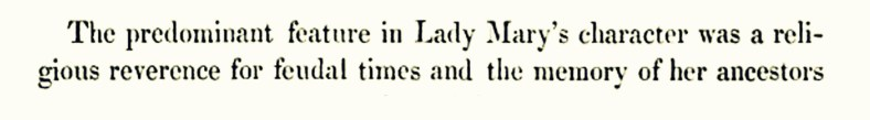 Lady Mary Crawford (as recalled by Lord Lindsay, 1858) 07