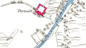 Turnalt 1872 map