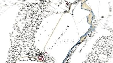 Barbreck map 1872a