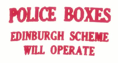 operate Police boxes