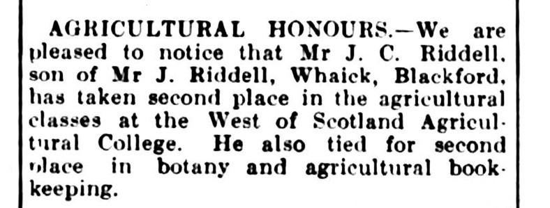 April 1922, Whaick