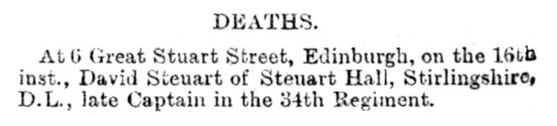 Death of Captain David Steuart, 16 December 1890 - Copy