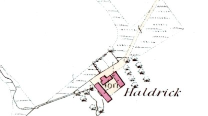 Haldrick map 1864