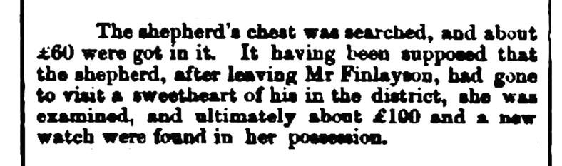 Sept 1861 Whaick - the Shepherd's chest