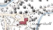 Steuarthall 1st OS map 1855b - Copy