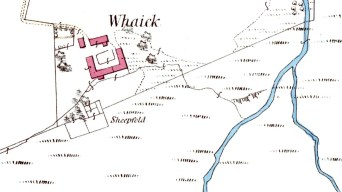Whaick map 1864