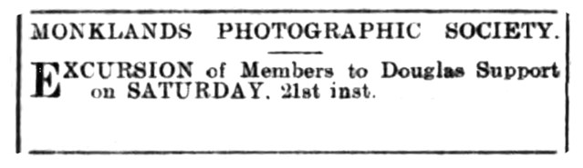 1906 Douglas Support - Monklands Photographic Society