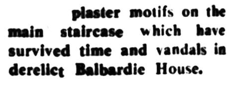Balbardie - July 1974 b